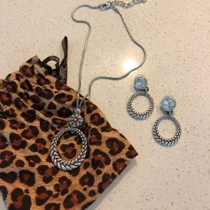 Brighton Collectibles Necklace and Earrings Set